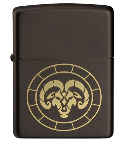 Zippo Zodiac Sign Aries Lighter