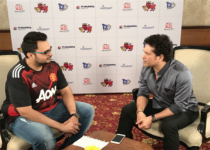 RJ Rishi Kapoor in conversation with Sachin Tendulkar