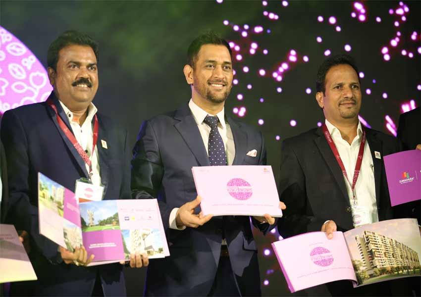 Sumadhura Group Brand Ambassador MS Dhoni