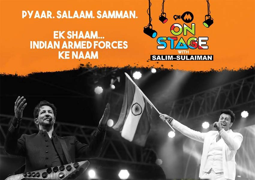 Catch 9xm On Stage With Salim Sulaiman On 9th February 2019