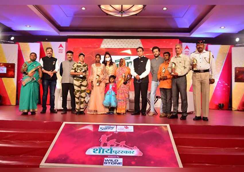 ABP Majha organizes Shourya Puraskar