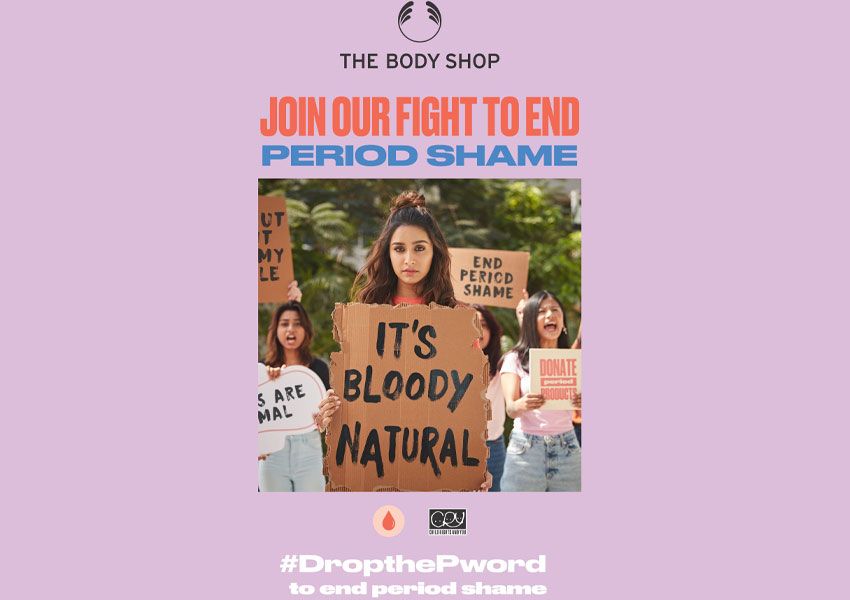 The Body Shop India partners CRY to end period shame