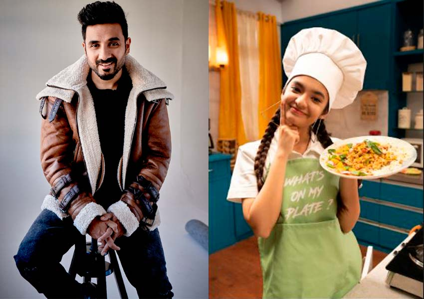 Watch Anushka Sen's culinary skills on What's On My Plate