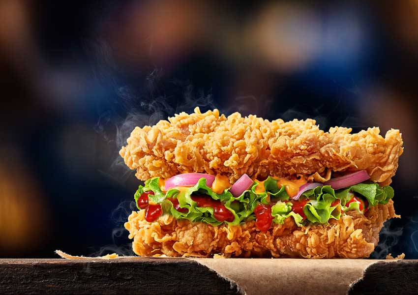 KFC Double Down Burger comes with its most unique chicken burger